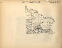 Florence T40N-R19E, Florence County 1957
